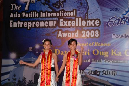 2008 - The 7th Asia Pacific International Enterpreneur Excellence Award